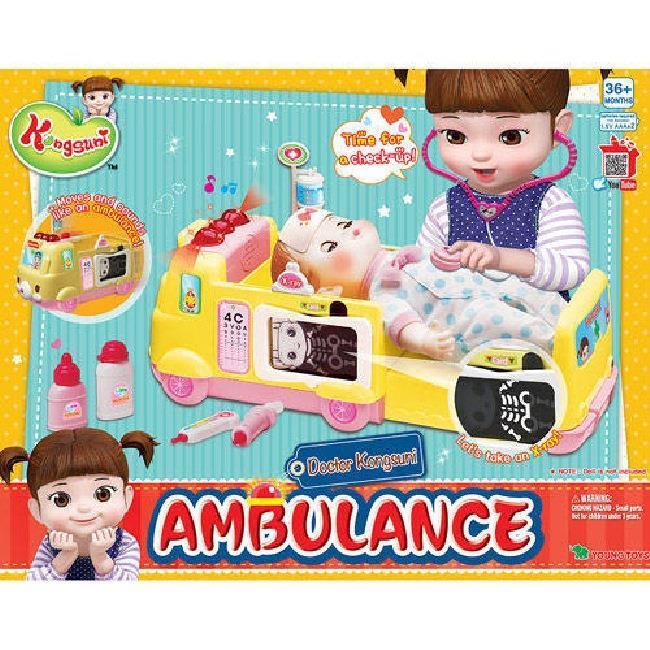 KONGSUNI 小荳娃娃 安心救護車 YT31007原廠公司貨 YONUG TOYS