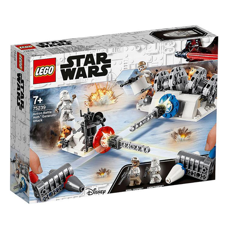 樂高積木LEGO STARWARS - 75239  Action Battle Hoth™ Gene