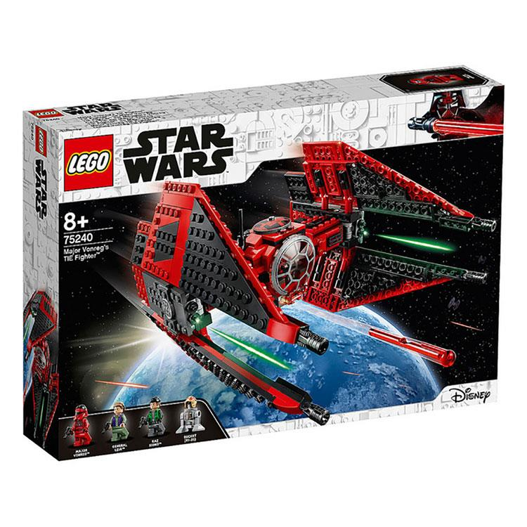 樂高積木LEGO - STAR WARS 星際大戰系列 - 75240  Major Vonreg's TIE Fighter™