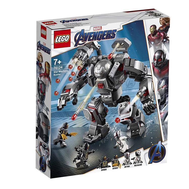 樂高積木 LEGO - SUPER HEROES 超級英雄系列 -76124 War Machine Buster