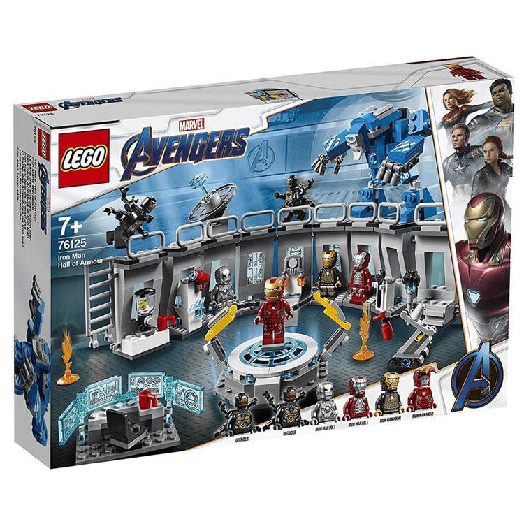 樂高積木 LEGO - SUPER HEROES 超級英雄系列 -76125 Iron Man Hall of Armor