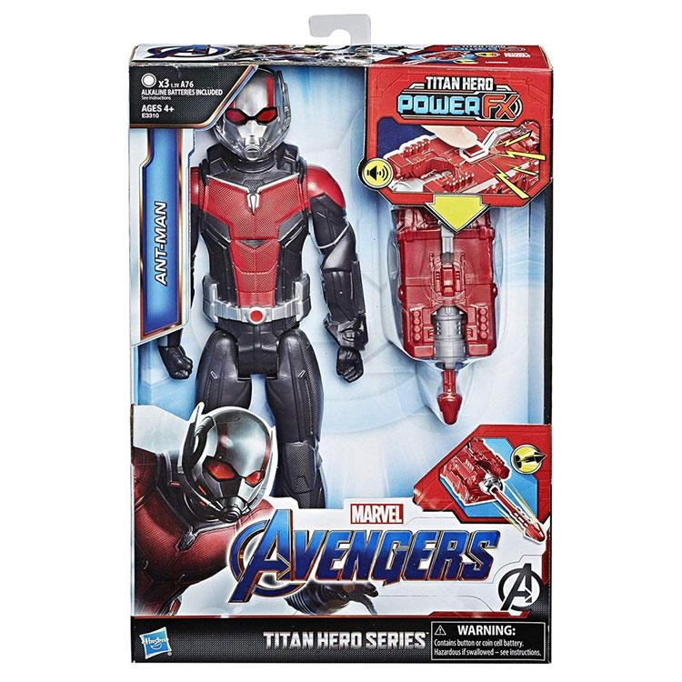 《MARVEL》漫威復仇者聯盟電影4電子泰坦英雄-蟻人