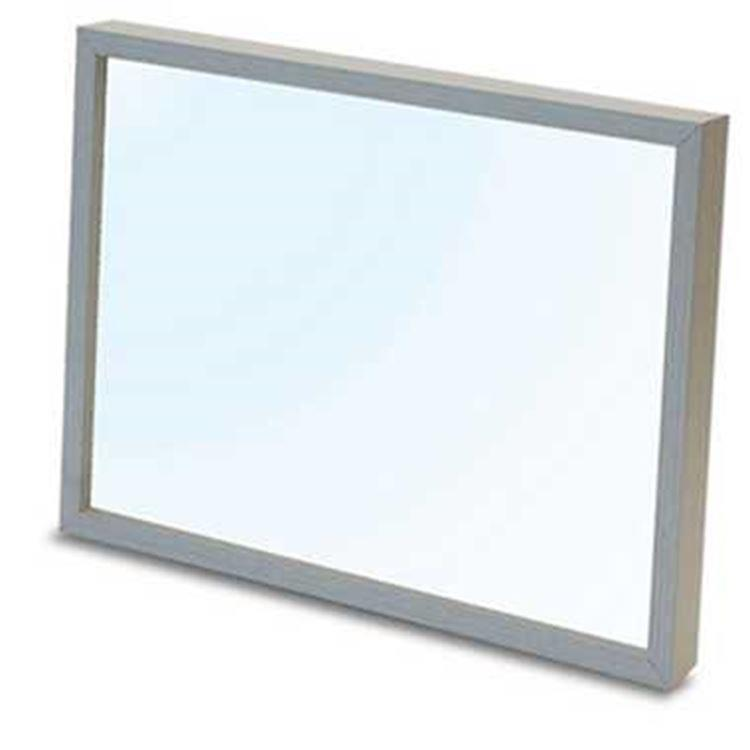 18.2X25.7cm 日系/透明白色木框