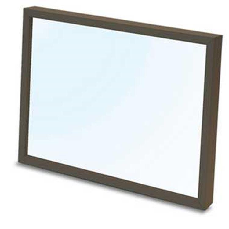 18.2X25.7cm 日系/透明棕色木框