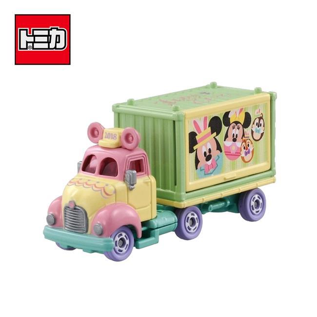 TOMICA 復活節 宣傳車 2018 日本7-11限定款 Disney Motors 多美小汽車