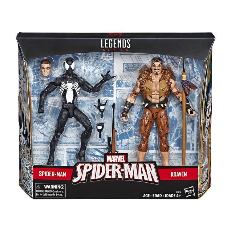 《MARVEL》漫威蜘蛛人傳奇6吋人物二入組 - 蜘蛛人 & 獵人