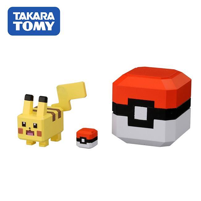 皮卡丘 探險寶貝球 公仔 寶可夢 探險尋寶 寶酷方 神奇寶貝 TAKARA TOMY