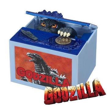 哥吉拉 偷錢箱 存錢筒 儲金箱 小費箱 恐龍 GODZILLA