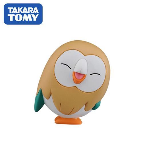 木木梟 微笑版 寶可夢 造型公仔 MONCOLLE-EX 神奇寶貝 TAKARA TOMY
