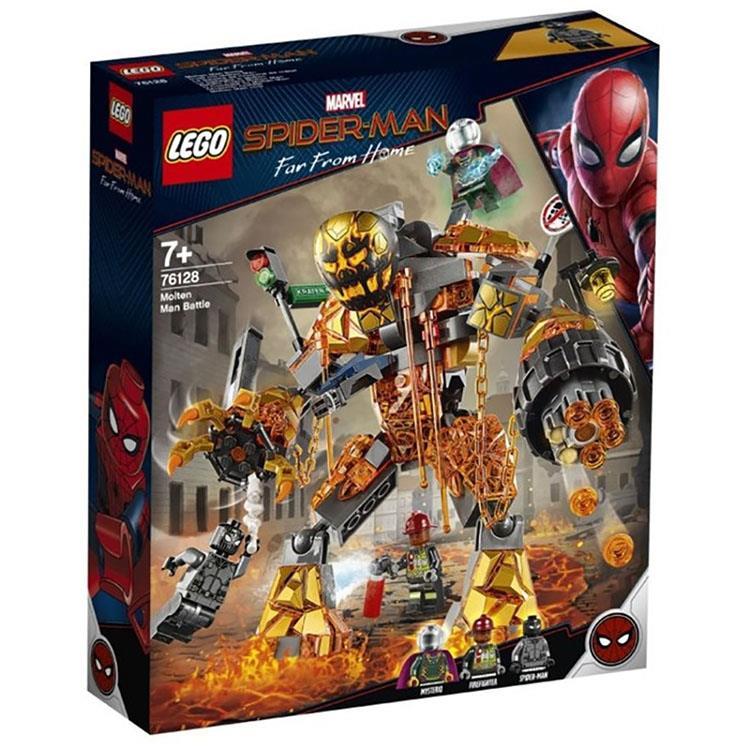 樂高積木 LEGO - 漫威 蜘蛛人:離家日- LT 76128 Molten Man's Battle