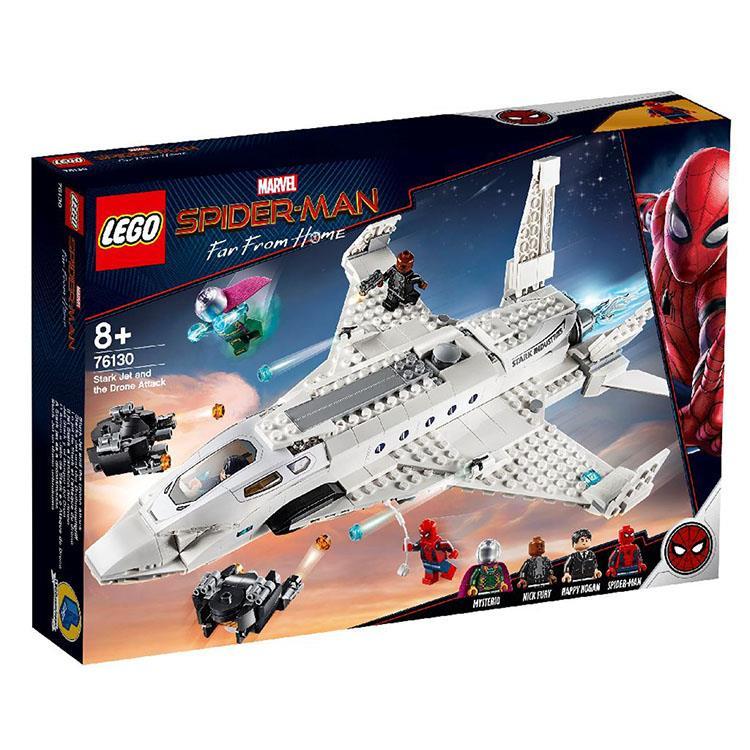 樂高積木 LEGO - 漫威 蜘蛛人:離家日- LT 76130 Conf_SM_Jet