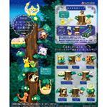 盒裝8款 寶可夢之森P2 流星之夜篇 盒玩 擺飾 精靈寶可夢 森林系列 神奇寶貝 Re-Ment