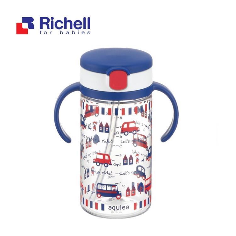 【Richell 利其爾】第四代LC 戶外水杯 320ml - 貝克街