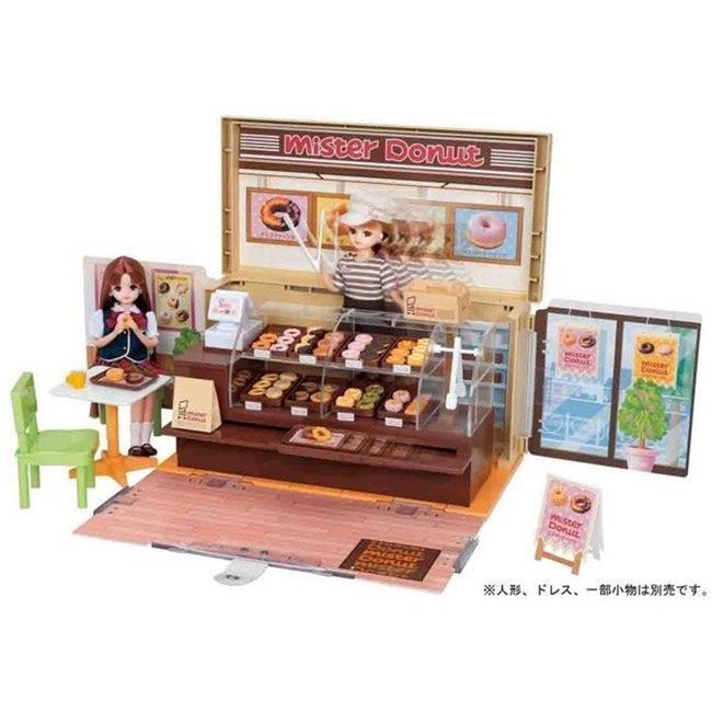 Licca 莉卡娃娃Mister Donut 甜甜圈禮盒組 LA87725 TAKARA TOMY