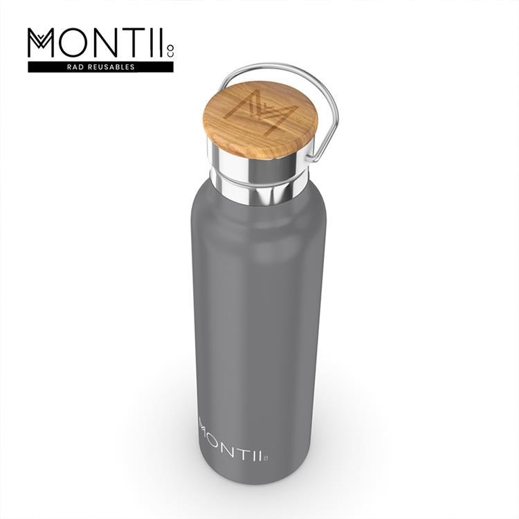 【虎兒寶 】Montii 澳洲不鏽鋼水壺(L) -鉛筆灰