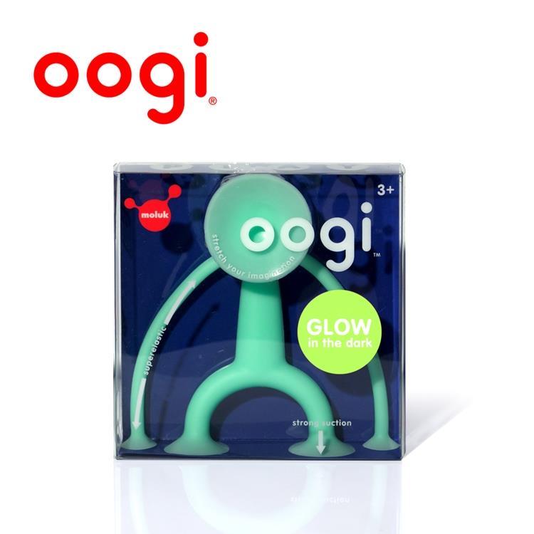 【虎兒寶 】MOLUK 瑞士洗澡玩具 - Oogi 麻吉好朋友- 夜光小綠人