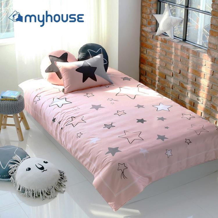 【虎兒寶 】myhouse 韓國超細纖維兩件式四季枕被組 - 滿天星