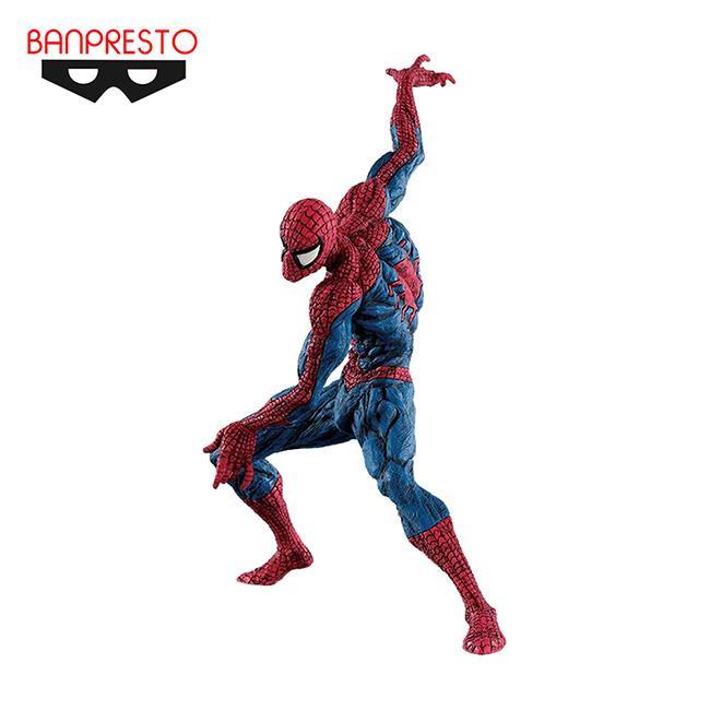 漫威英雄 超人技畫 蜘蛛人 公仔 模型 MARVEL BANPRESTO 萬普
