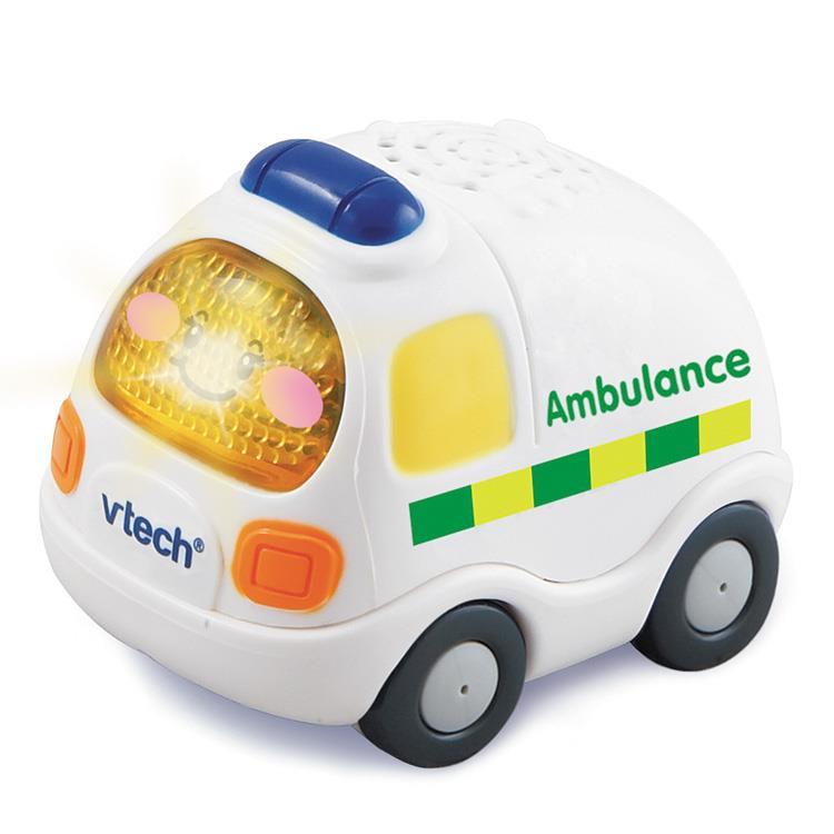 【英國 Vtech】嘟嘟車系列 - 救護車