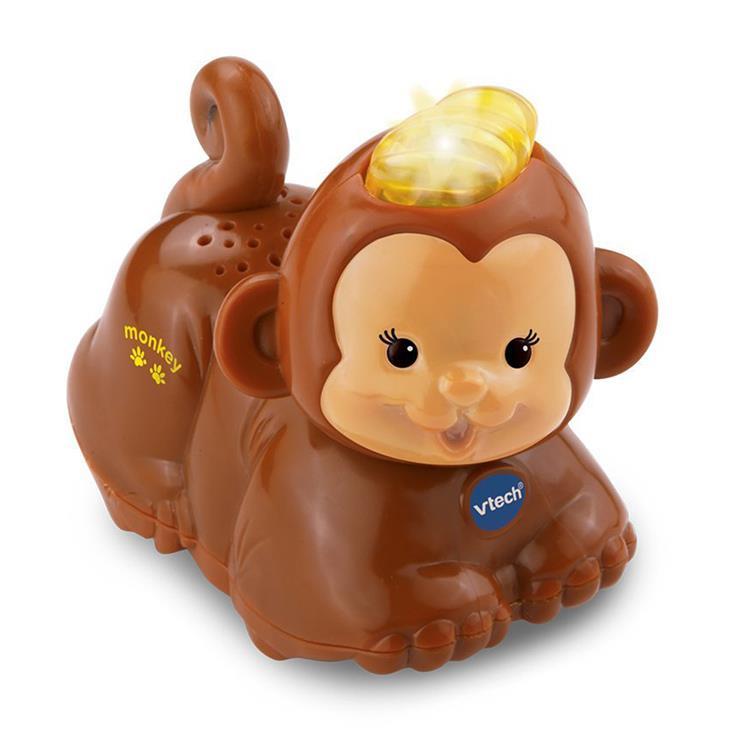 【英國 Vtech】嘟嘟動物系列 - 猴子