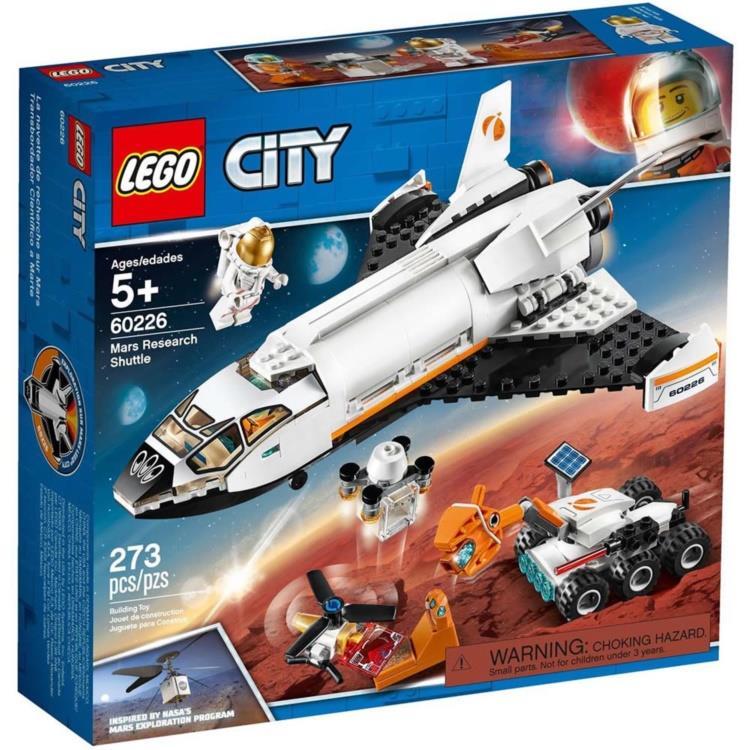 樂高積木 LEGO - 60226 City 城市系列 - 火星探究太空梭