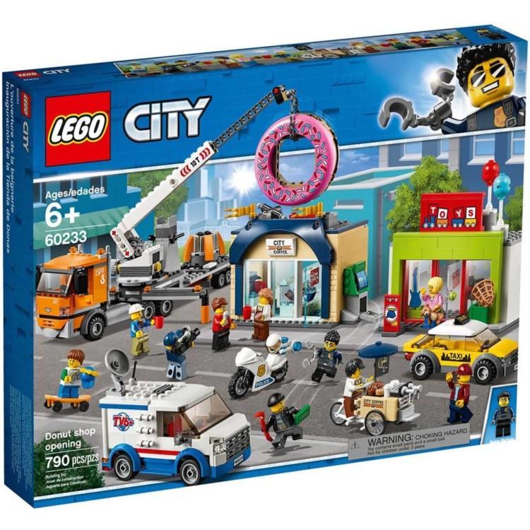 樂高積木 LEGO - 60233 City 城市系列 - 甜甜圈店新開幕