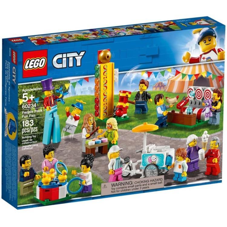 樂高積木 LEGO - 60234 City 城市系列 - 人偶套裝 - 園遊會