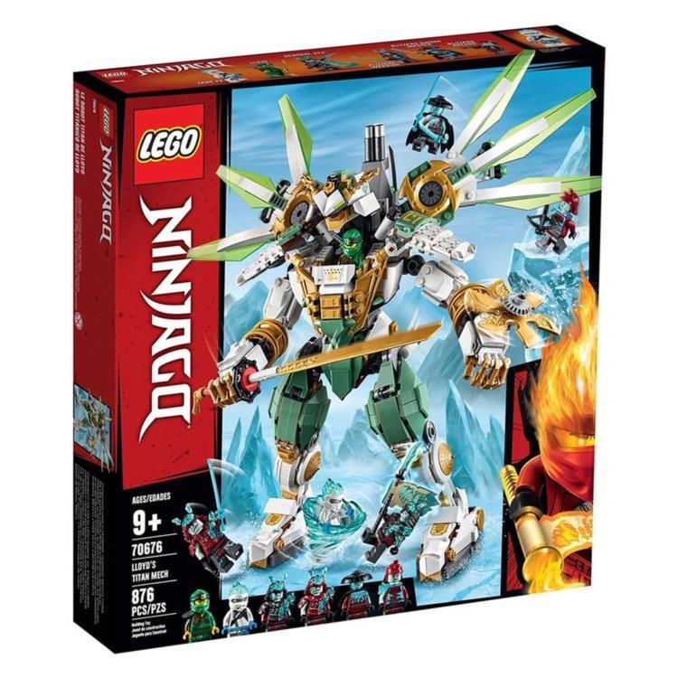 樂高積木 LEGO - 70676 NINJAGO 旋風忍者系列 - 勞埃德的鈦機械人