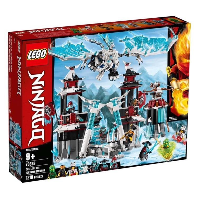 樂高積木 LEGO - 70678 NINJAGO 旋風忍者系列 - 遺落的帝王城堡