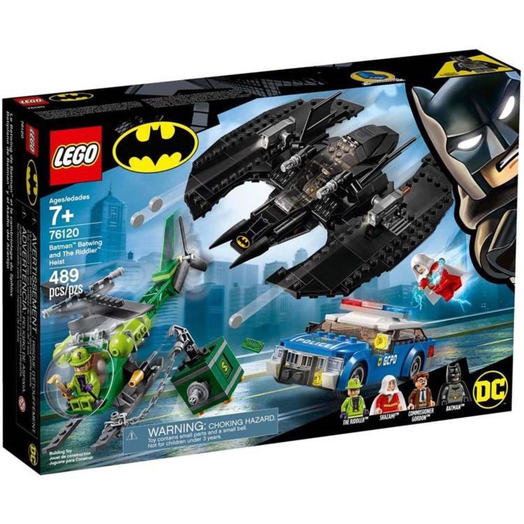 樂高積木 LEGO - 76120 SUPER HEROES 超級英雄 - 蝙蝠俠與沙贊追捕謎語人