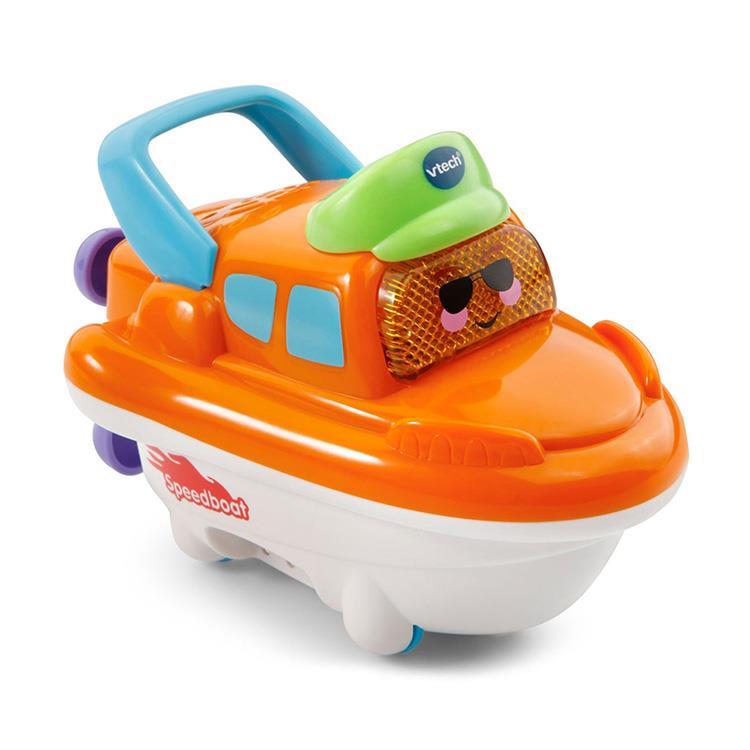 【英國 Vtech】2合1嘟嘟戲水洗澡玩具系列 - 酷炫快艇