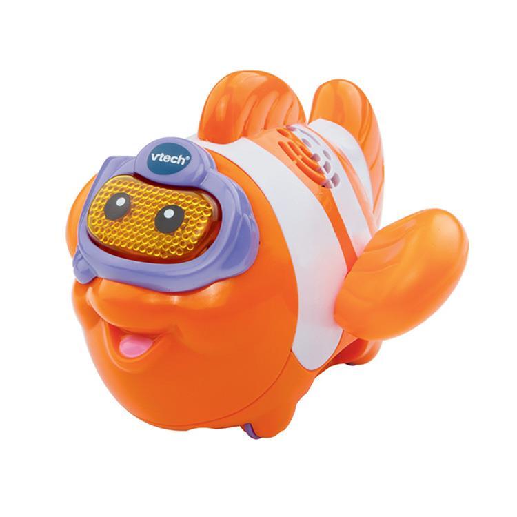 【英國 Vtech】2合1嘟嘟戲水洗澡玩具系列 - 熱情小丑魚