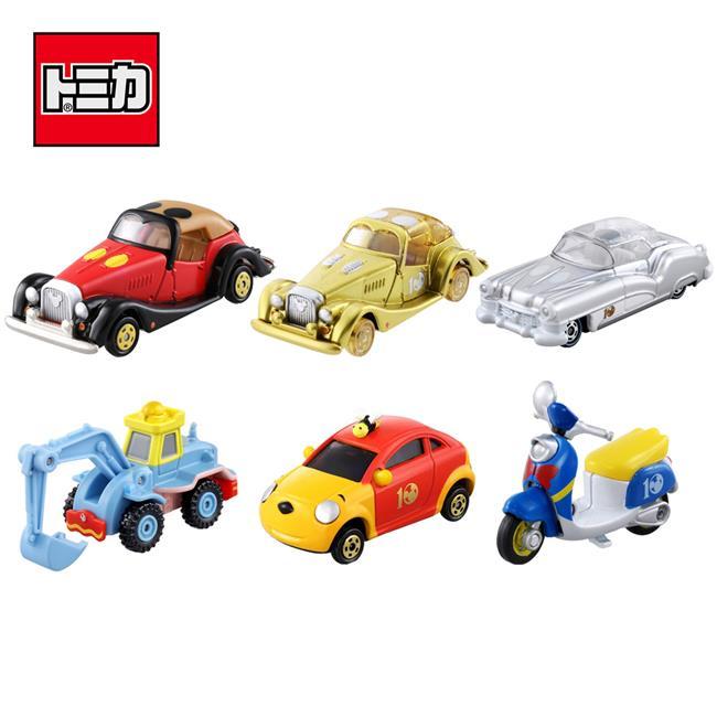 TOMICA 全套6款 迪士尼 10周年 紀念車 玩具車 Disney Motors 多美小汽車