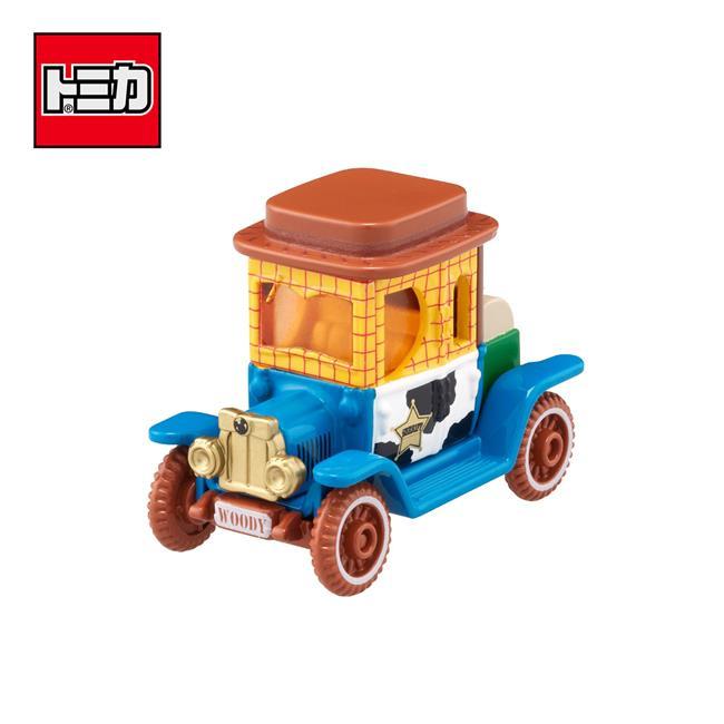 TOMICA DM-18 胡迪 高帽子造型小車 玩具總動員 Disney Motors 多美小汽車