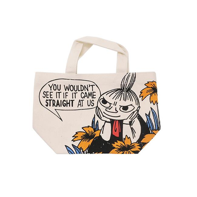 嚕嚕米 帆布 手提袋 便當袋 午餐袋 小不點 MOOMIN