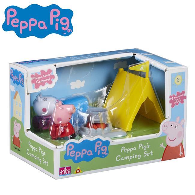 佩佩豬 戶外露營組 家家酒 玩具 Peppa Pig 粉紅豬小妹