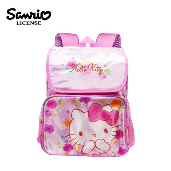 凱蒂貓 玫瑰花系列 後背包 背包 書包 Hello Kitty 三麗鷗 Sanrio