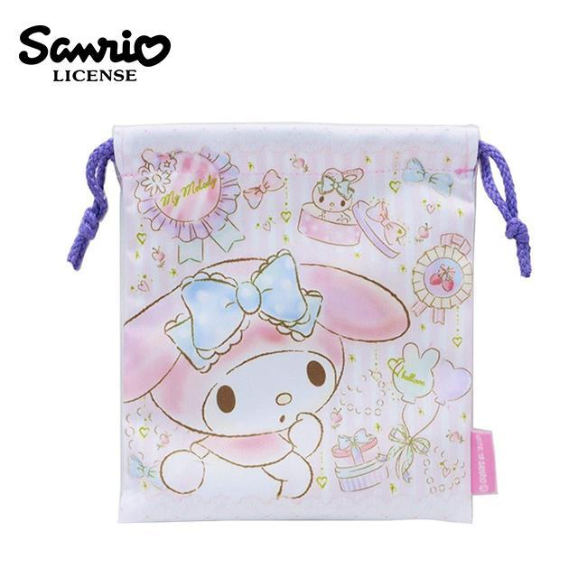 美樂蒂 束口袋 收納袋 抽繩束口袋 小物收納 My Melody 三麗鷗 Sanrio