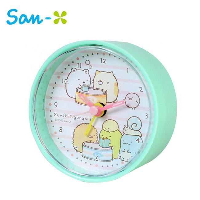 角落生物 圓形鬧鐘 造型鐘 指針時鐘 角落小夥伴 San-X