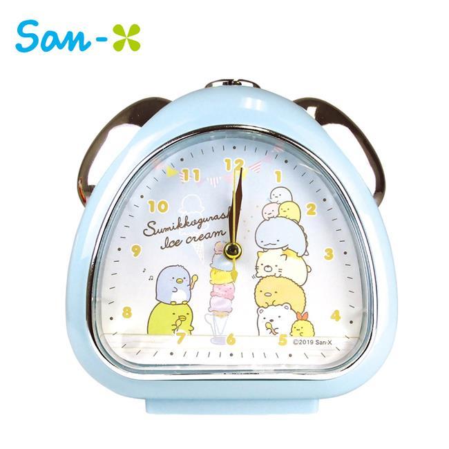 角落生物 鬧鐘 造型鐘 指針時鐘 夜燈功能 角落小夥伴 San-X