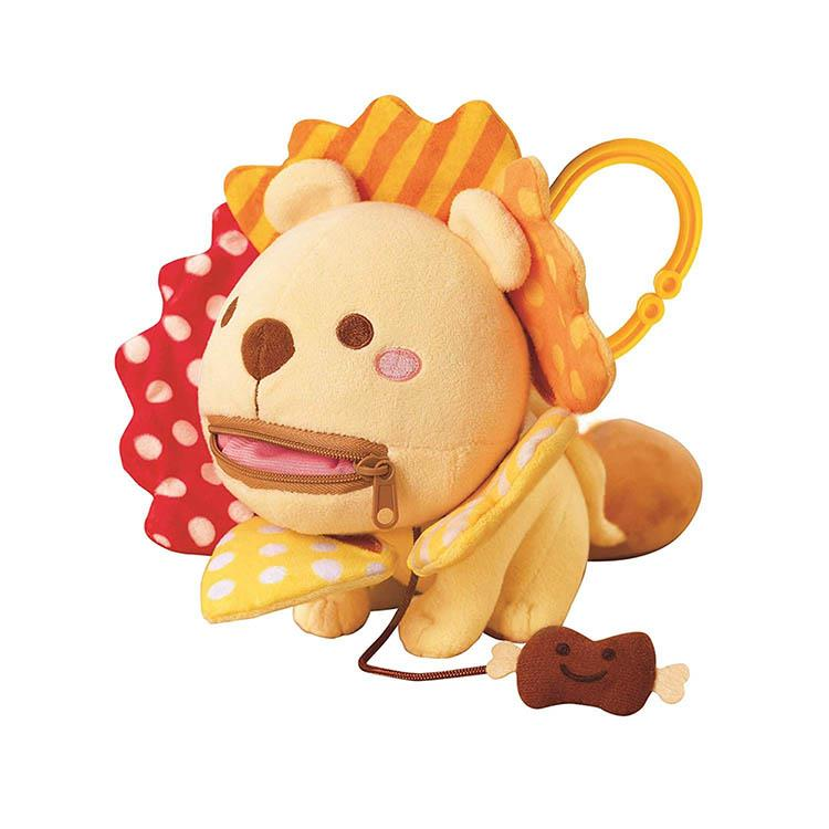 《 日本 EyeUp 》多功能安撫玩偶 - 小小獅