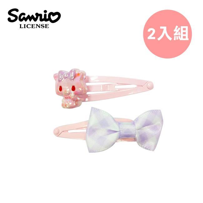 甜夢貓 髮夾 2入組 BB夾 復古髮夾 夢夢貓 三麗鷗 Sanrio