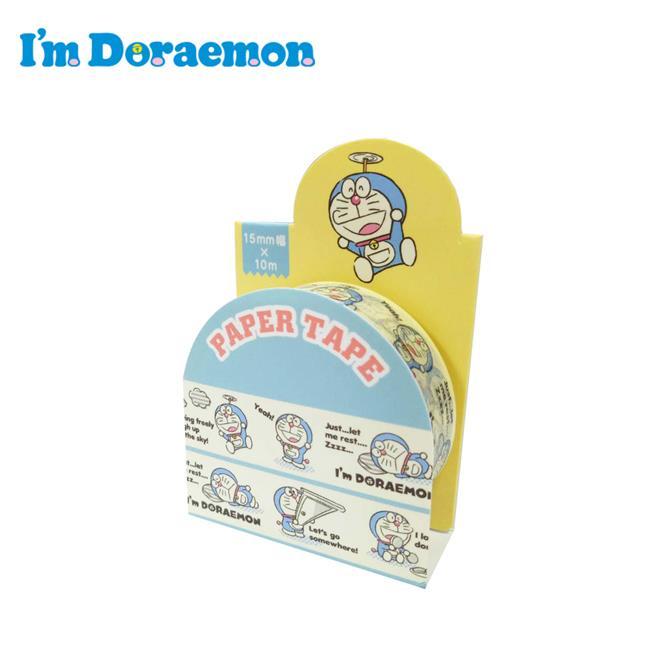 哆啦A夢 紙膠帶 15mm寬 手帳貼 小叮噹 DORAEMON 三麗鷗 Sanrio