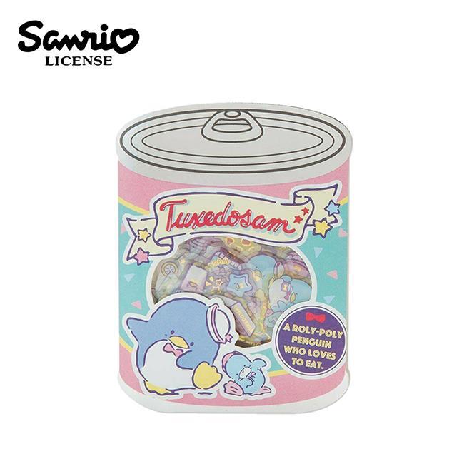 山姆企鵝 罐頭造型 貼紙包 手帳貼 貼紙 企鵝 Tuxedosam 三麗鷗 Sanrio