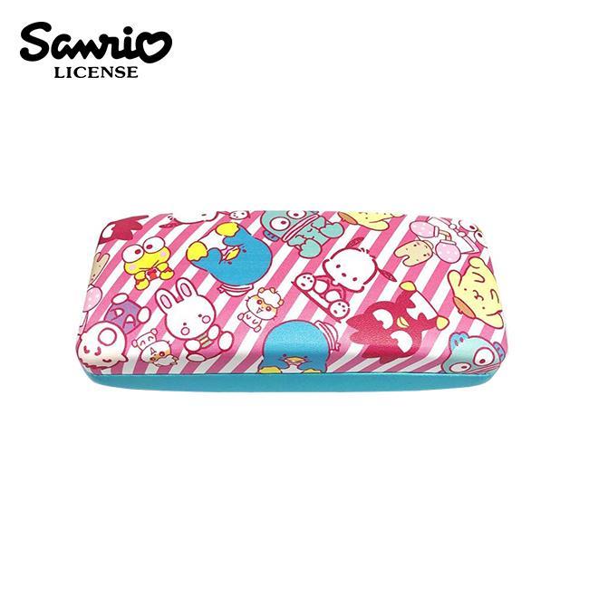 三麗鷗 皮革 硬殼 眼鏡盒 附拭鏡布 Sanrio