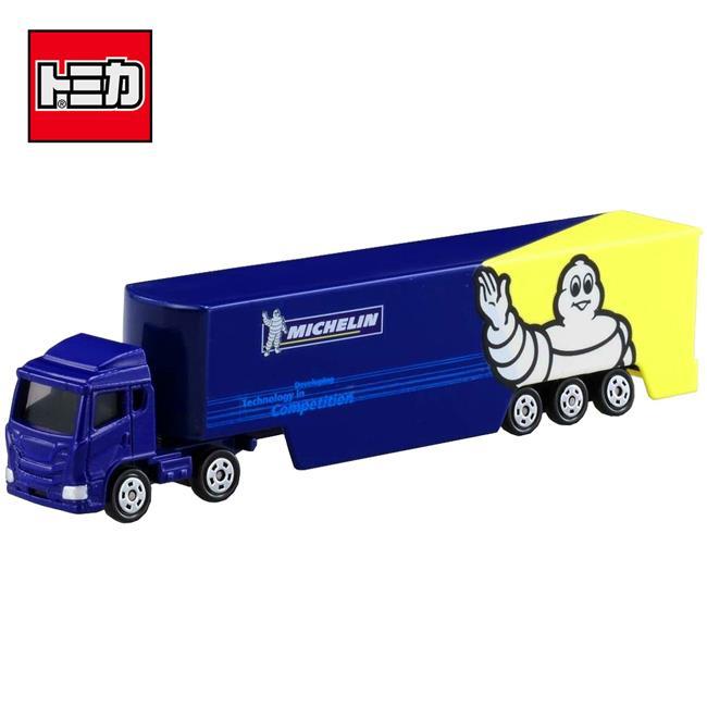 TOMICA NO.135 米其林 貨櫃車 玩具車 貨車 長盒 多美小汽車