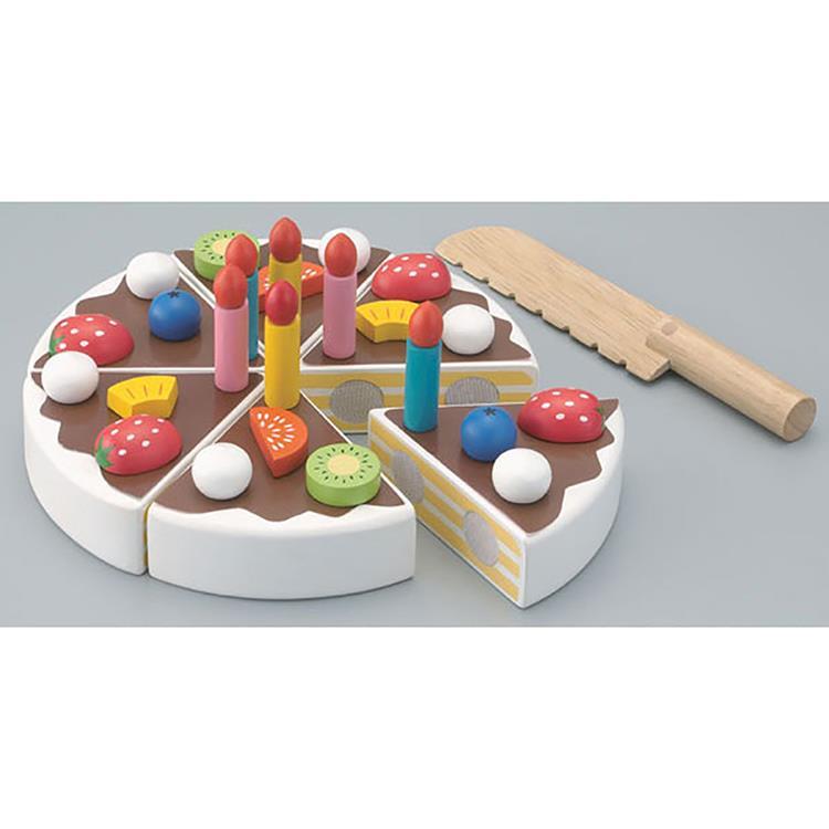 日本《 Ed-Inter 》木玩系列 - 小小蛋糕達人
