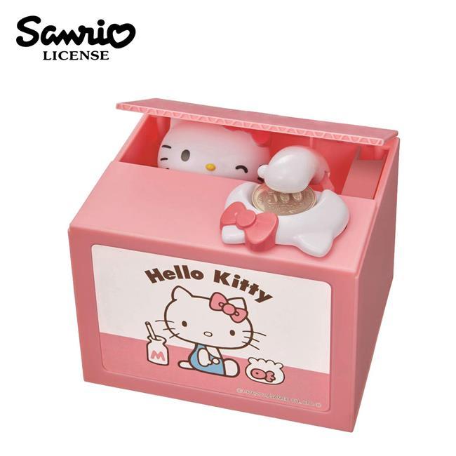 凱蒂貓 偷錢箱 存錢筒 儲金箱 小費箱 Hello Kitty 三麗鷗 SHINE