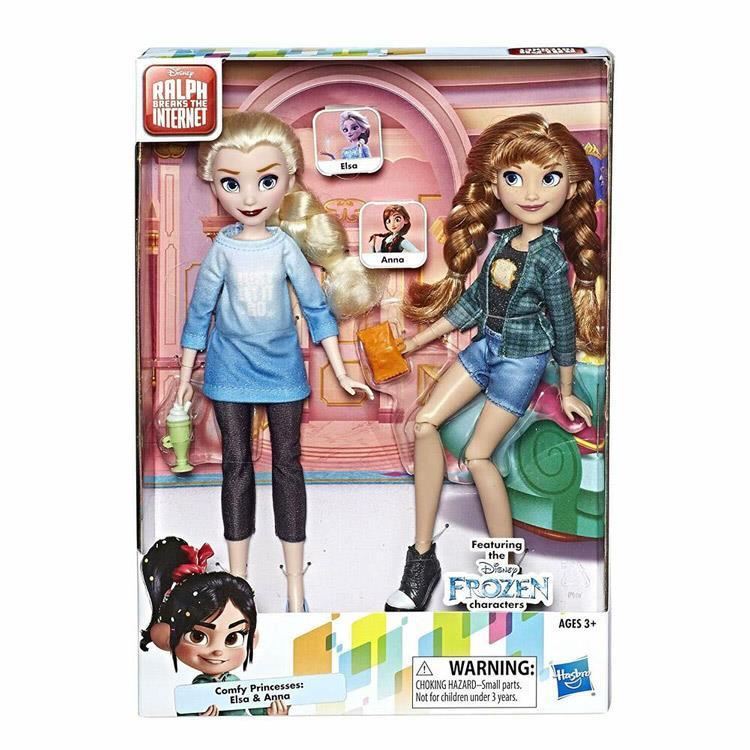 《 Disney 迪士尼 》無敵破壞王2 - B組 艾莎&安娜