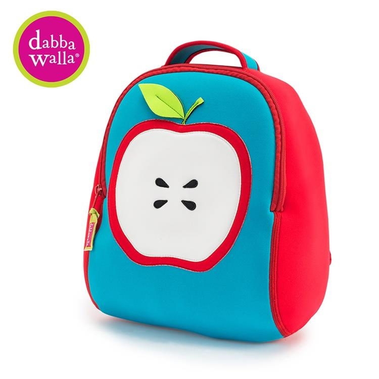 【Dabbawalla】美國瓦拉包 3-8歲 小童後背包- 紅蘋果